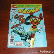 Cómics: SPIDERMAN EXTRA PRIMAVERA. LA VENDETTA VIBRANIUM 1ª PARTE CON POSTER CENTRAL Nº 219 DE PUNISHER 1992. Lote 154350110