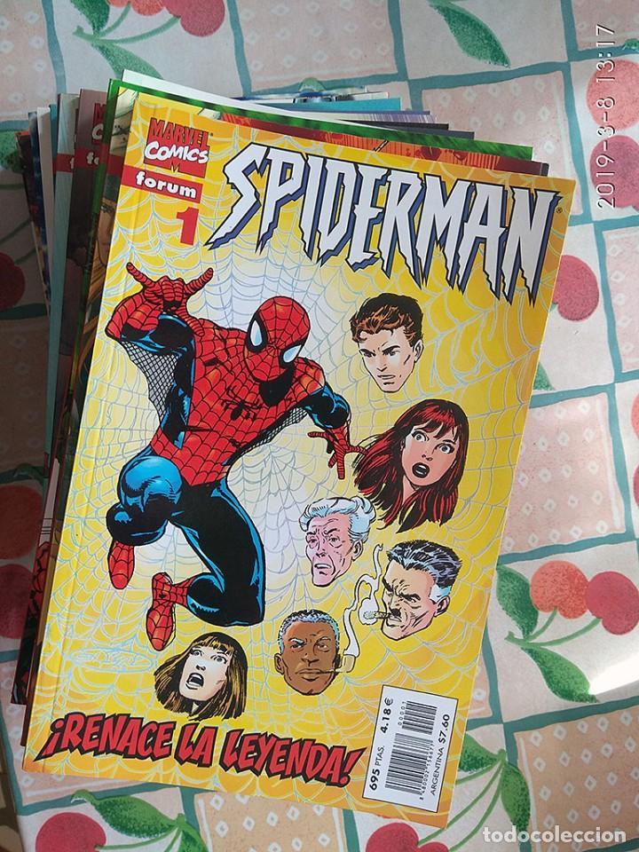 SPIDERMAN VOL. VOLUMEN 3 Ó 5 SEGÚN FUENTES (FÓRUM, 31 TOMOS, COMPLETA) (Tebeos y Comics - Forum - Spiderman)