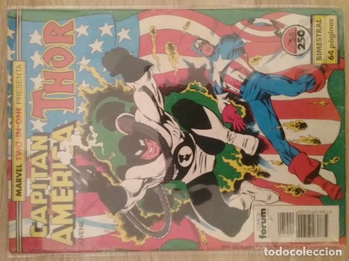 CAPITÁN AMERICA THOR 54 PRIMERA EDICIÓN TWO IN ONE# (Tebeos y Comics - Forum - Capitán América)