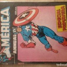 Cómics: CAPITÁN AMERICA PRIMERA EDICIÓN ESPECIAL PRIMAVERA # . Lote 154411510