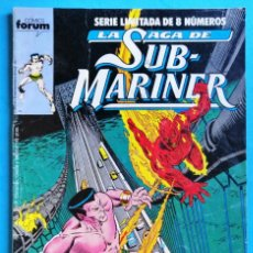 Cómics: LA SAGA DE SUB-MARINER (SERIE LIMITADA DE 8 NÚMEROS) Nº 3. Lote 154458314