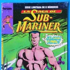 Cómics: LA SAGA DE SUB-MARINER (SERIE LIMITADA DE 8 NÚMEROS) Nº 8. Lote 154458342