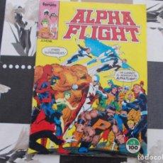 Cómics: ALPHA FLIGHT Nº 1 VOL-1. FORUM. Lote 154481510