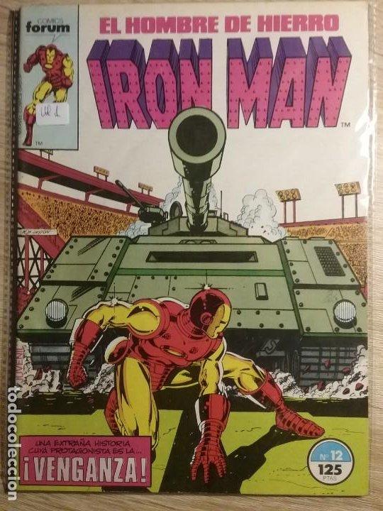 IRON MAN 12 PRIMERA EDICIÓN # (Tebeos y Comics - Forum - Iron Man)