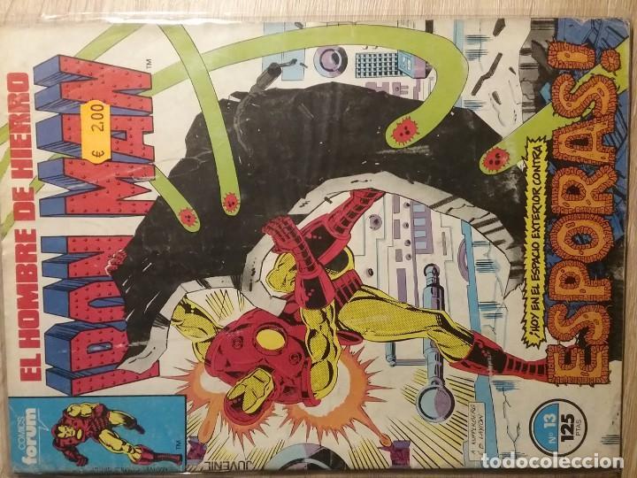 IRON MAN 13 PRIMERA EDICIÓN # (Tebeos y Comics - Forum - Iron Man)