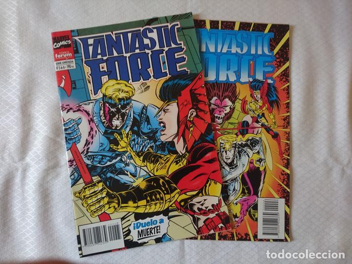 LOTE FANTASTIC FORCE 2 NUMEROS (Tebeos y Comics - Forum - Otros Forum)
