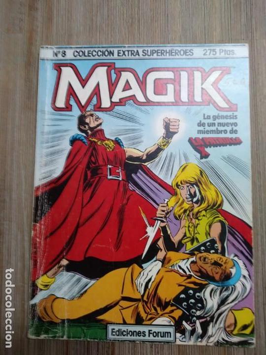 EXTRA SUPERHÉROES 8. MAGIK (Tebeos y Comics - Forum - Nuevos Mutantes)