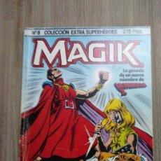 Cómics: EXTRA SUPERHÉROES 8. MAGIK. Lote 154550038