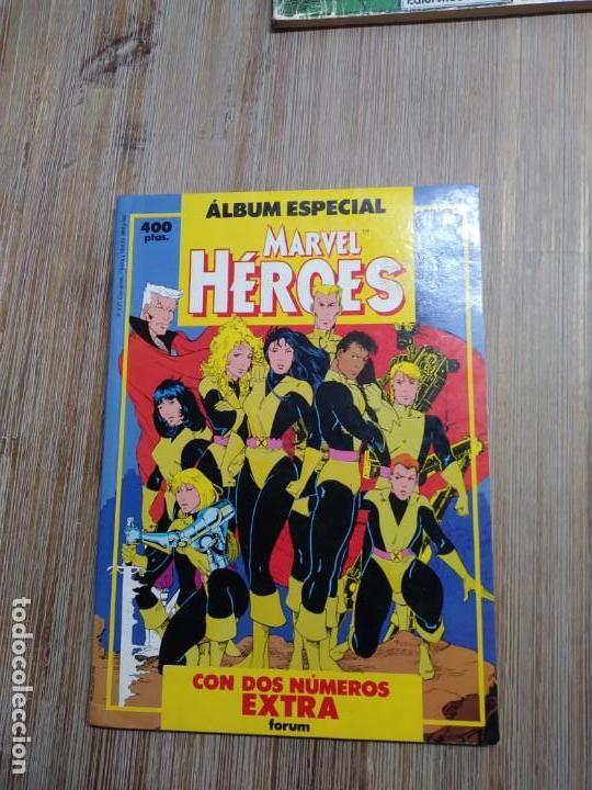 RETAPADO MARVEL HÉROES ALBUM ESPECIAL (Tebeos y Comics - Forum - Nuevos Mutantes)