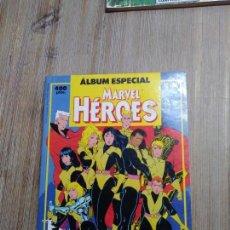 Cómics: RETAPADO MARVEL HÉROES ALBUM ESPECIAL. Lote 154549902