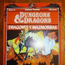 DUNGEONS & DRAGONS = Dragones y Mazmorras. 2 : El valle de los unicornios