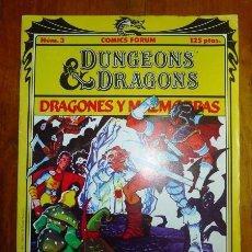 Comics - DUNGEONS & DRAGONS = Dragones y Mazmorras. 3 : En busca del Amo del Calabozo - 154617794