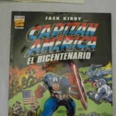 Comics : PERFECTO ESTADO. CAPITAN AMERICA. EL BICENTENARIO. JACK KIRBY. FORUM. Lote 154650882