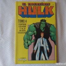 Cómics: EL INCREIBLE HULK VOLUMEN 3 EN RETAPADO TOMO 4. Lote 154676206