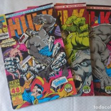 Cómics: INCREIBLE HULK & IRON MAN 3 NUMEROS. Lote 154678518