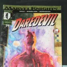 Cómics: DAREDEVIL MARVEL KNIGHTS 29 FORUM. Lote 154844446