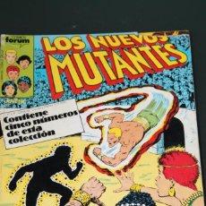 Cómics: LOS NUEVOS MUTANTES RETAPADO NUMEROS 11 12 13 14 Y 15 FORUM. Lote 154874482