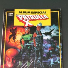 Comics : PATRULLA X ALBUM ESPECIAL CON 3 EXTRA FORUM PRIMAVERA VERANO NAVIDAD. Lote 154874890