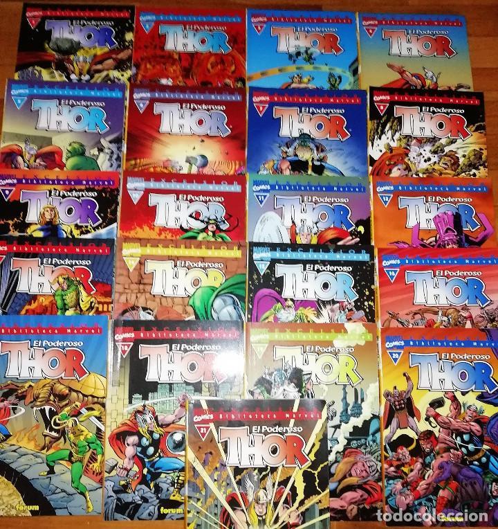 THOR. BIBLIOTECA MARVEL. NUMEROS 1 AL 21 BUEN ESTADO. (Tebeos y Comics - Forum - Thor)