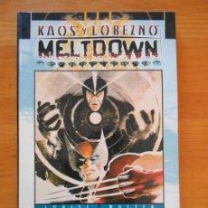 Cómics: KAOS Y LOBEZNO - MELTDOWN - MARVEL - FORUM (Y). Lote 154931098