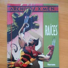 Cómics: ARCHIVOS X-MEN - RAICES - JOHN BYRNE - FORUM (K). Lote 154933354