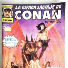 Cómics: LA ESPADA SALVAJE DE CONAN N° 100. Lote 155013678