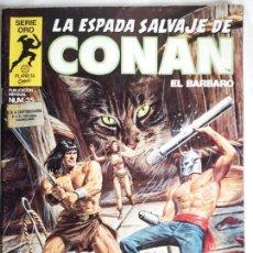 Cómics: LA ESPADA SALVAJE DE CONAN N° 35. Lote 155014314
