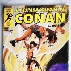 Cómics: LA ESPADA SALVAJE DE CONAN N° 1. Lote 155015674