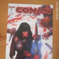 Cómics: COMIC GRAPA CONAN LA LEYENDA NUMERO 1 FORUM 2005 NUEVO. Lote 155132354