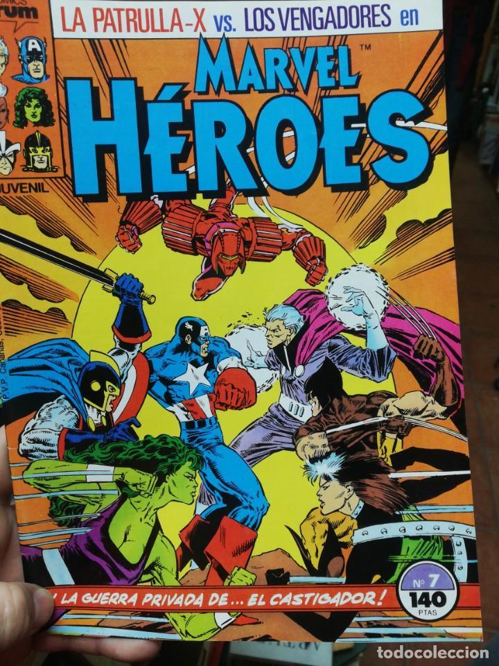 MARVEL HEROES. N. 7 (Tebeos y Comics - Forum - Otros Forum)