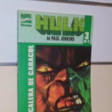Cómics: HULK DE PAUL JENKINS Nº 3 DE 3 ESCALERA DE CARACOL - FORUM OFERTA. Lote 155293954