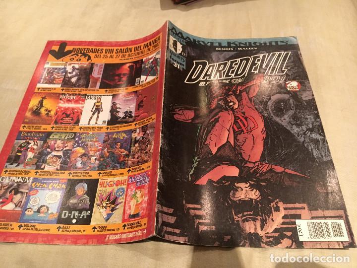 DAREDEVIL EL HOMBRE SIN MIEDO - MARVEL KNIGHTS Nº 31 - FORUM (Tebeos y Comics - Forum - Daredevil)
