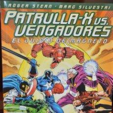 Cómics: PATRULLA X VS VENGADORES EL JUICIO DE MAGNETO. Lote 155332342