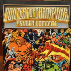 Cómics: CONTEST OF CHAMPIONS PRIMER COMBATE. Lote 155332562