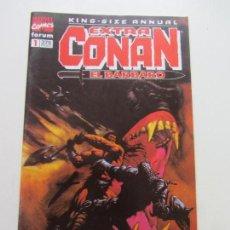 Cómics: EXTRA CONAN EL BARBARO Nº 1, COLECCIÓN KING-SIZE-ANNUAL FORUM CX10. Lote 155372366