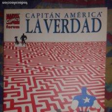 Cómics: CAPITAN AMERICA: LA VERDAD: KYLE BAKER: FORUM. Lote 155421086