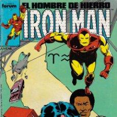 Cómics: EL HOMBRE DE HIERRO. IRON MAN. Nº 33 - AÑOS 80. Lote 155470486