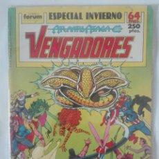 Cómics: LOS VENGADORES ESPECIAL INVIERNO 1989 PRIMERA EDICIÓN #. Lote 155475482
