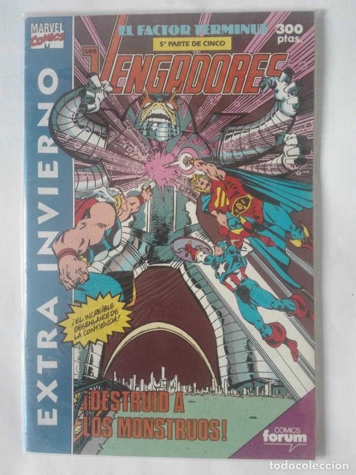 LOS VENGADORES EXTRA INVIERNO 1991 PRIMERA EDICIÓN # (Tebeos y Comics - Forum - Vengadores)