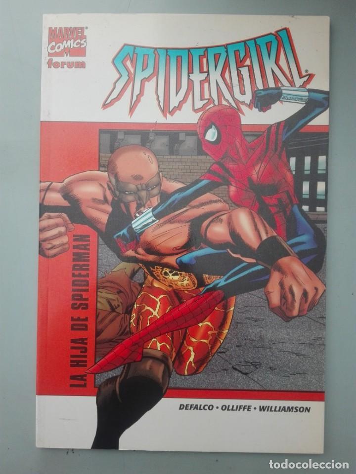 SPIDERGIRL LA HIJA DE SPIDERMAN # (Tebeos y Comics - Forum - Prestiges y Tomos)