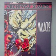 Cómics: ARCHIVOS X-MEN MASACRE #. Lote 155565986