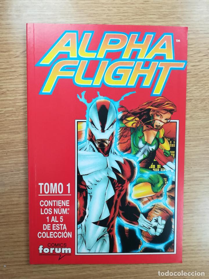 ALPHA FLIGHT VOL 2 RETAPADO #1 (NUMEROS 1 A 5) (Tebeos y Comics - Forum - Alpha Flight)
