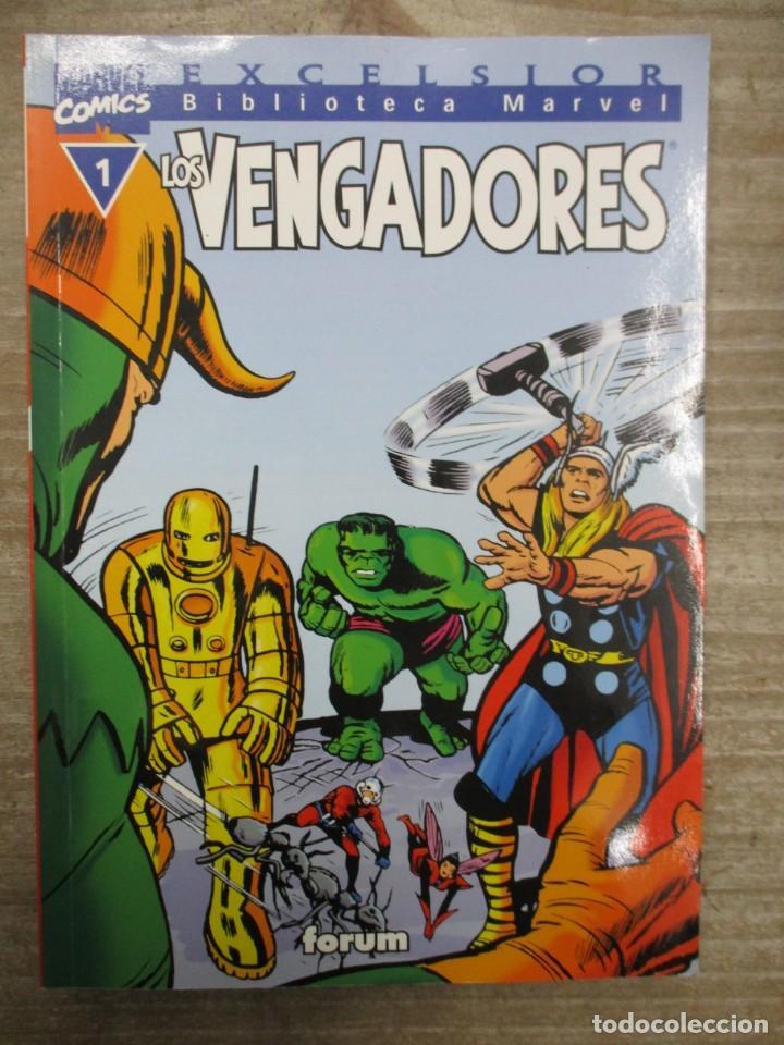 COLECCION COMPLETA BIBLIOTECA MARVEL LOS VENGADORES - 32 NUMEROS - FORUM (Tebeos y Comics - Forum - Vengadores)
