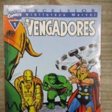 Cómics: COLECCION COMPLETA BIBLIOTECA MARVEL LOS VENGADORES - 32 NUMEROS - FORUM. Lote 155654830