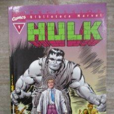 Cómics: COLECCION COMPLETA BIBLIOTECA MARVEL HULK - 36 NUMEROS - FORUM. Lote 155656826
