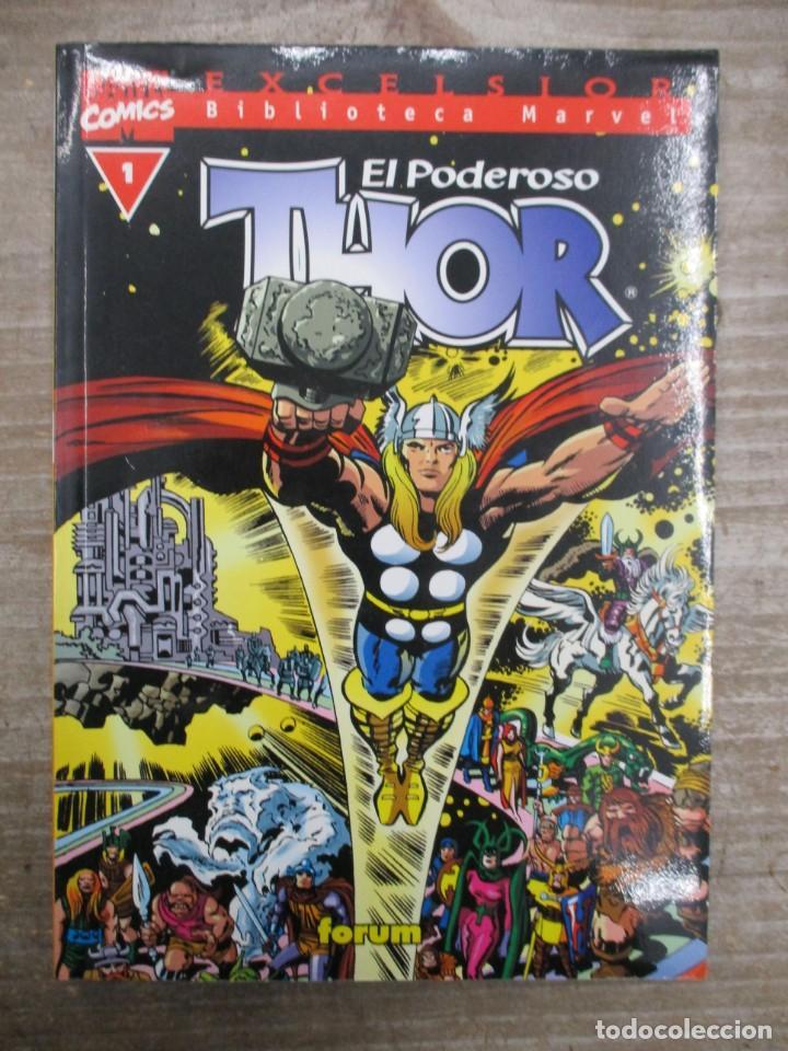 COLECCION COMPLETA BIBLIOTECA MARVEL THOR - 37 NUMEROS - FORUM (Tebeos y Comics - Forum - X-Men)