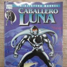 Cómics: COLECCION COMPLETA BIBLIOTECA MARVEL EL CABALLERO LUNA - 3 NUMEROS - FORUM. Lote 155659738