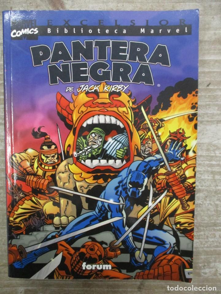 COLECCION COMPLETA BIBLIOTECA MARVEL PANTERA NEGRA Y LA VIUDA NEGRA - 2 TOMOS - FORUM (Comics und Tebeos - Forum - Andere Forum)