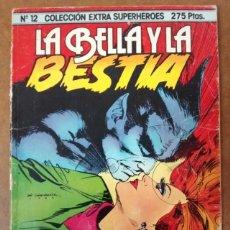 Cómics: EXTRA SUPERHEROES Nº 12 LA BELLA Y LA BESTIA - FORUM - OFI15SE. Lote 155670634