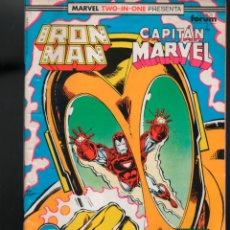 Cómics: MARVEL TWO IN ONE IRON MAN CAPITAN MARVEL Nº 57 FORUM. Lote 155673134